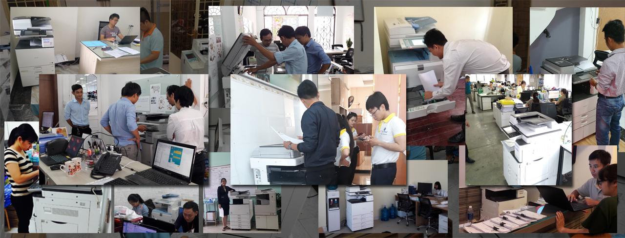 Công ty máy photocopy tận tụy phục vụ khách hàng