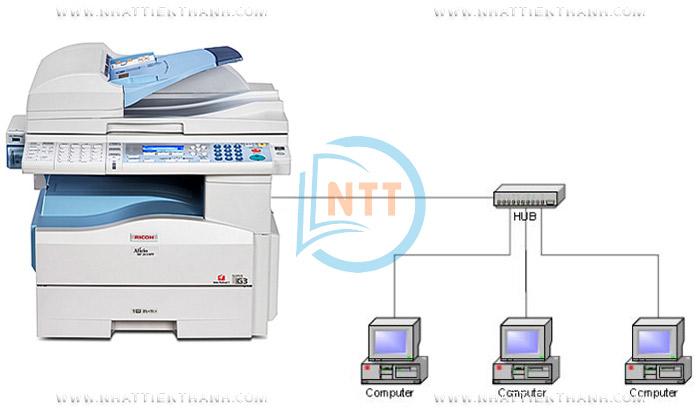 Máy Photocopy Ricoh MP 201 Giá Rẻ