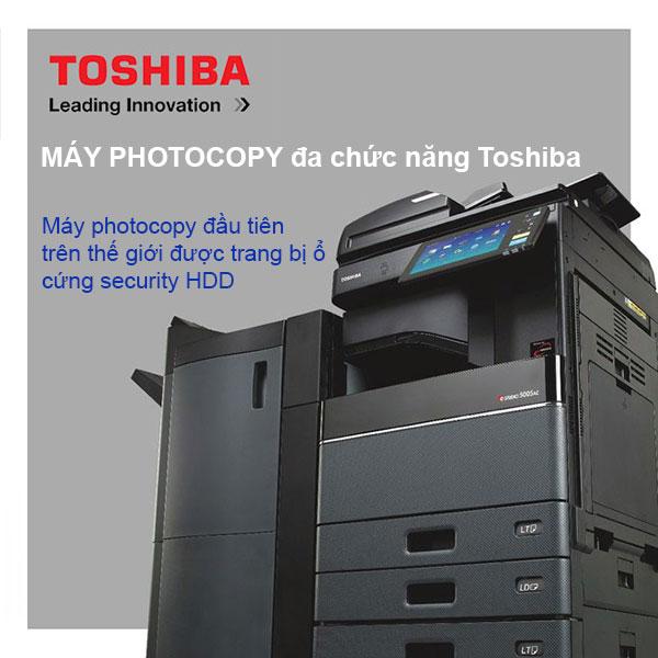 CÔNG NGHỆ BẢO MẬT SELF-ENCRYPTING DRIVES CỦA PHOTOCOPY TOSHIBA